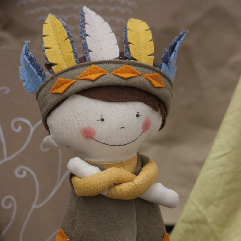 kézműves játékbaba